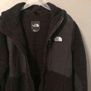 North face jacket black